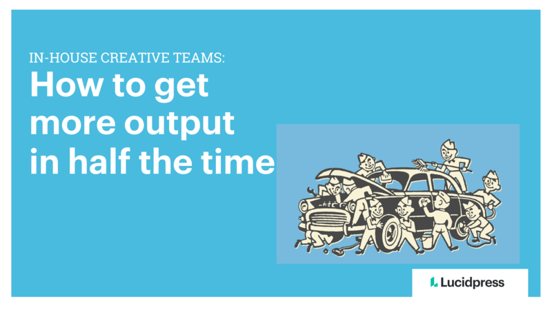 In-house creative teams cover