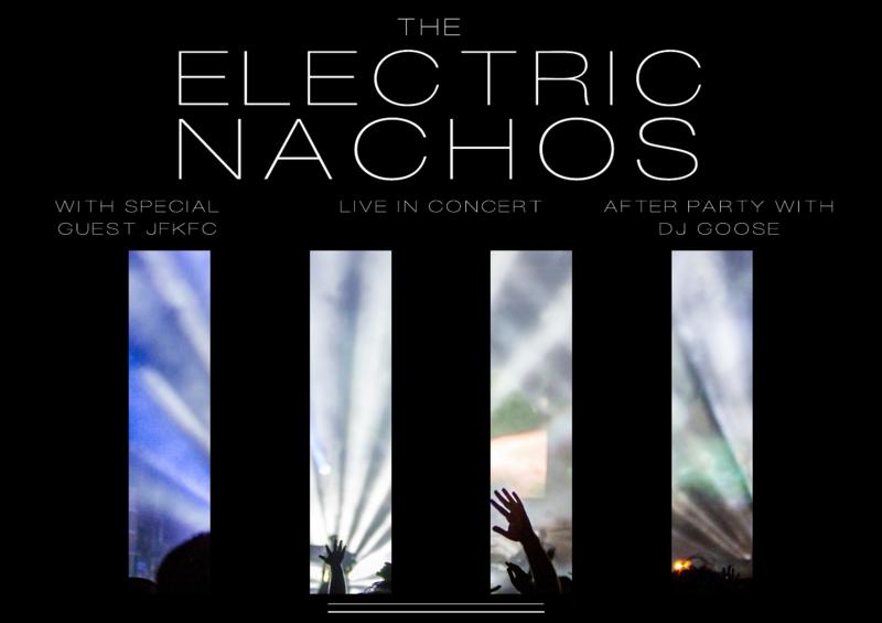 Digital concert flyer template