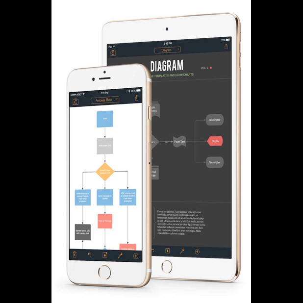 Lucidchart for iPad and iPhone