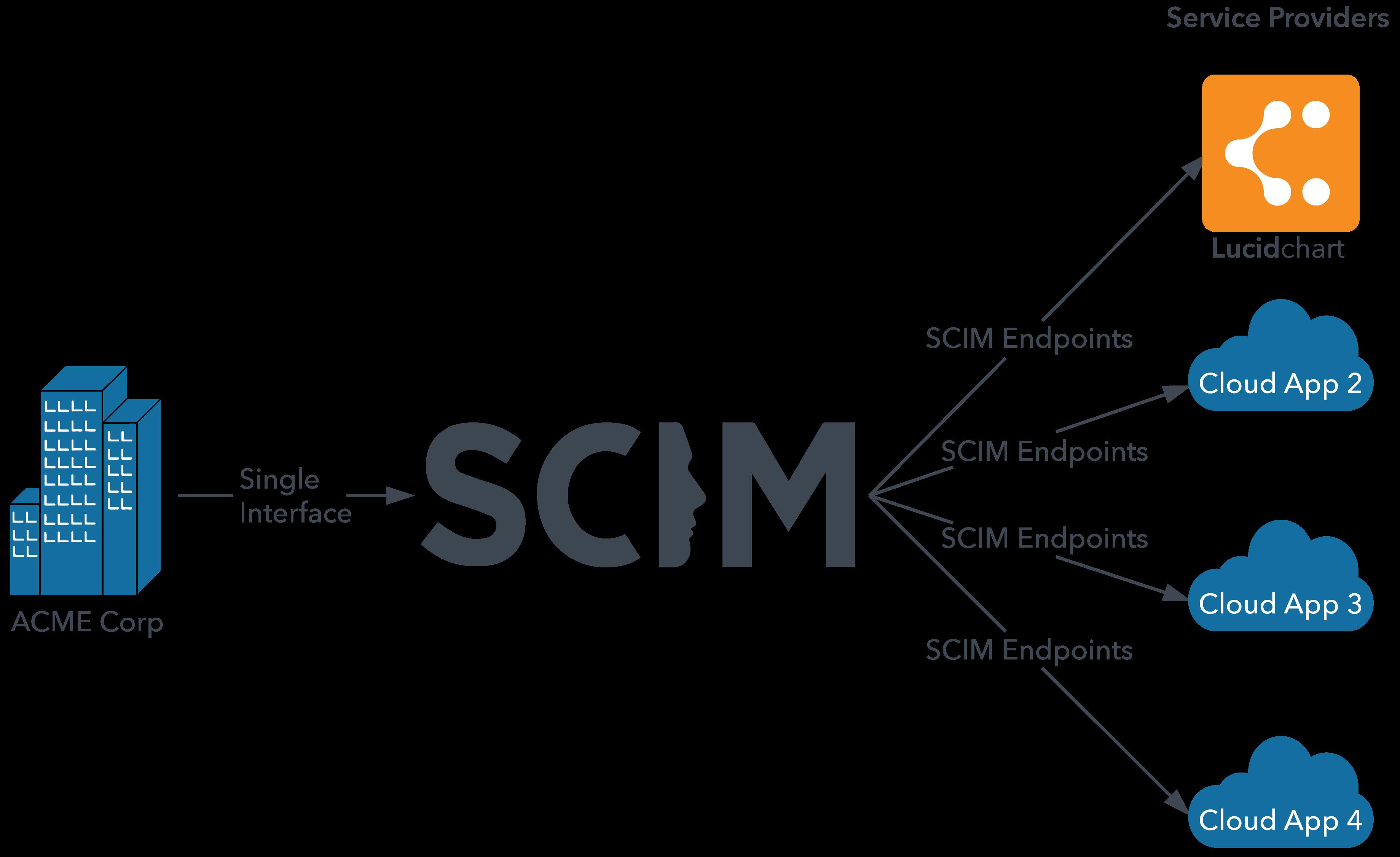 SCIM diagram
