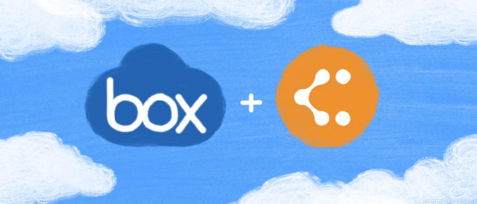 Box integration for Lucidchart