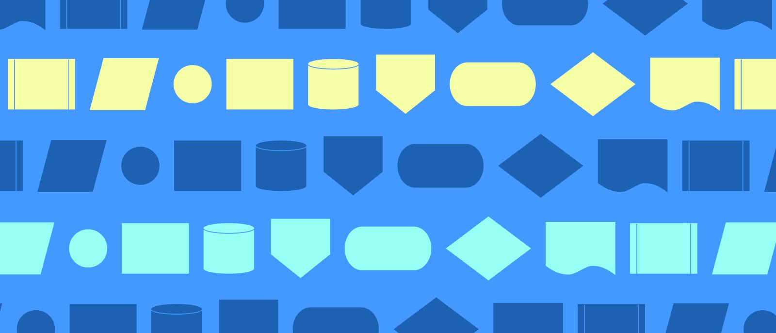 flowchart symbols and notation