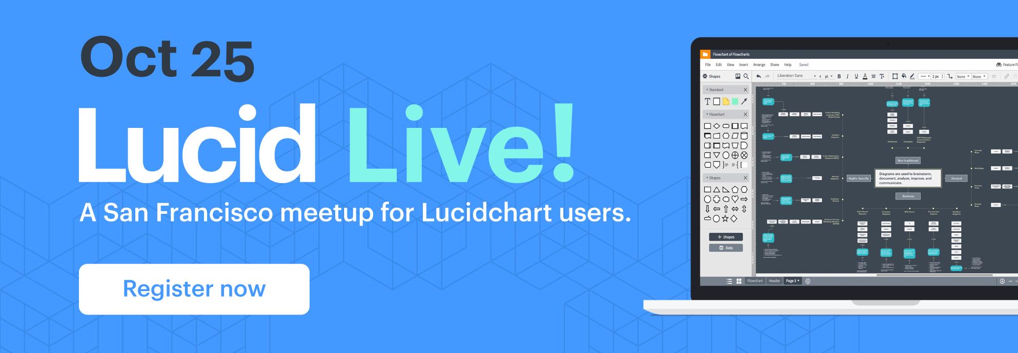 Lucid Live banner