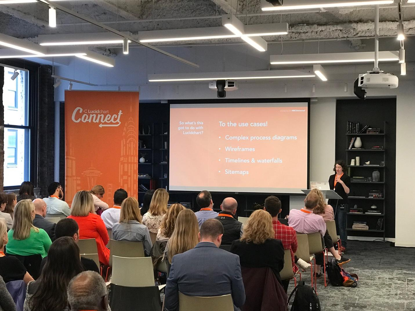Jessica Reed at Lucidchart Connect NYC