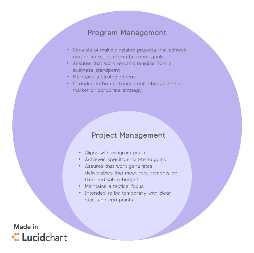 What Is a Program Manager? | Lucidchart Blog
