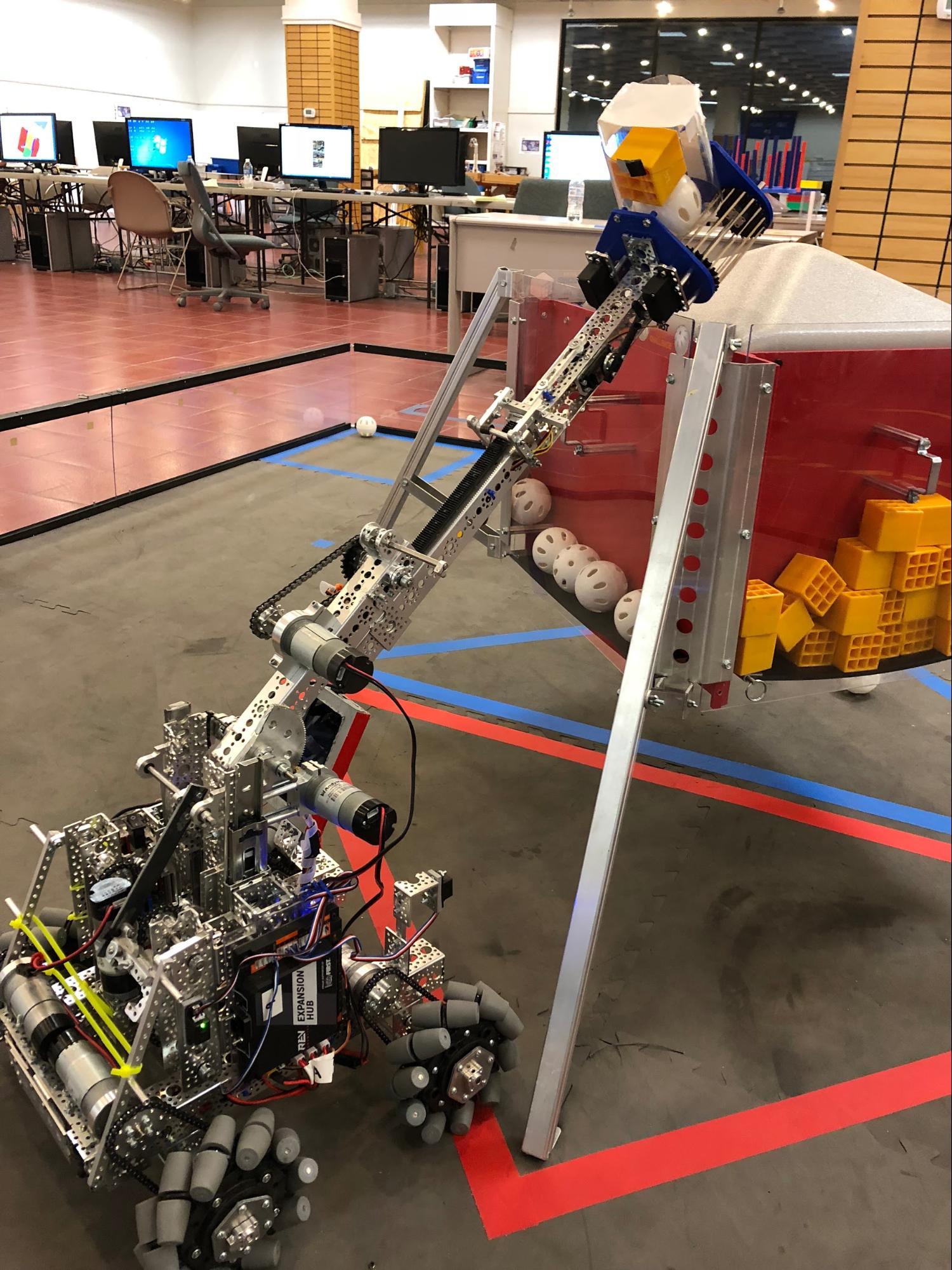 Team Tardis robot