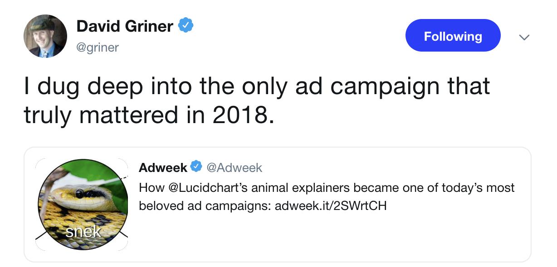 Adweek tweet
