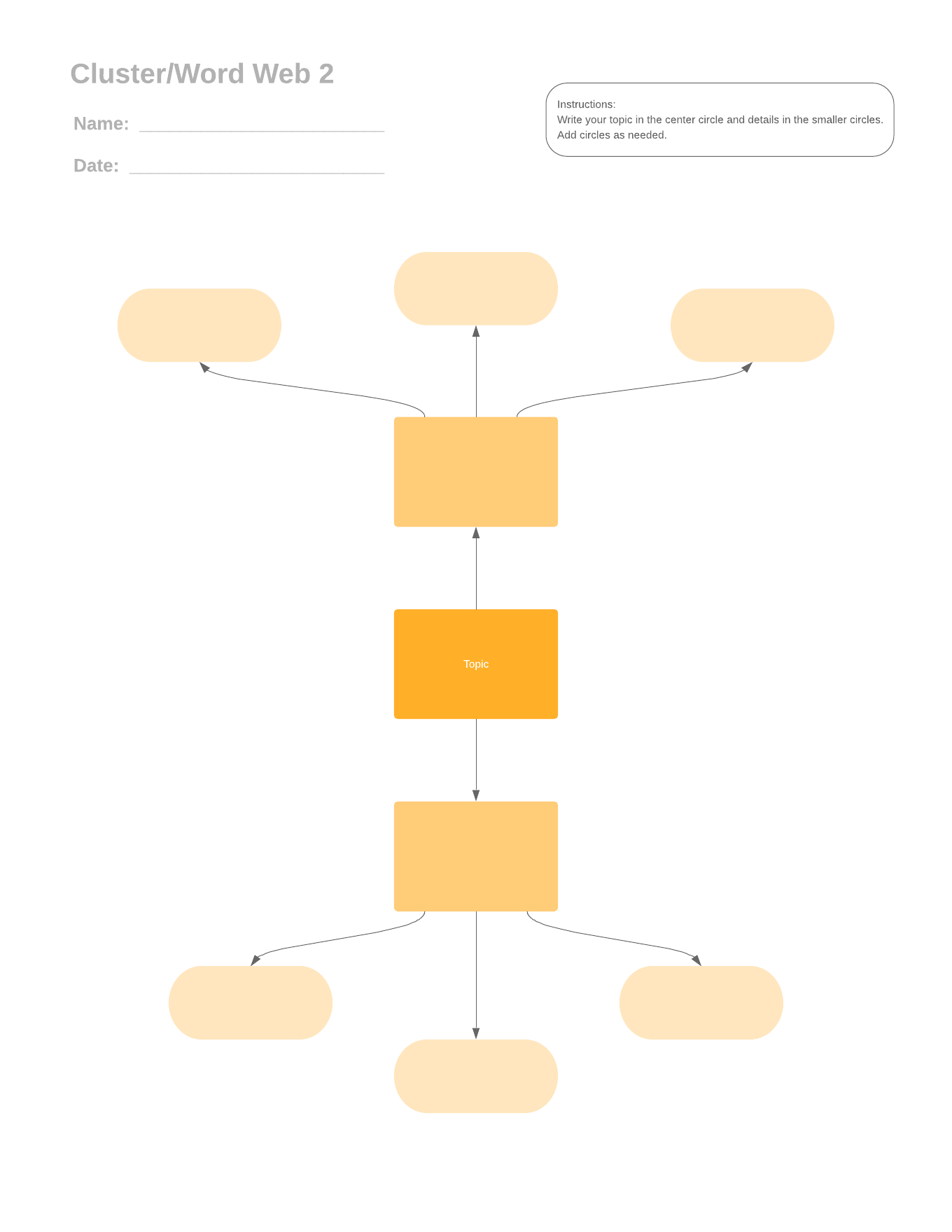 cluster word web version 2