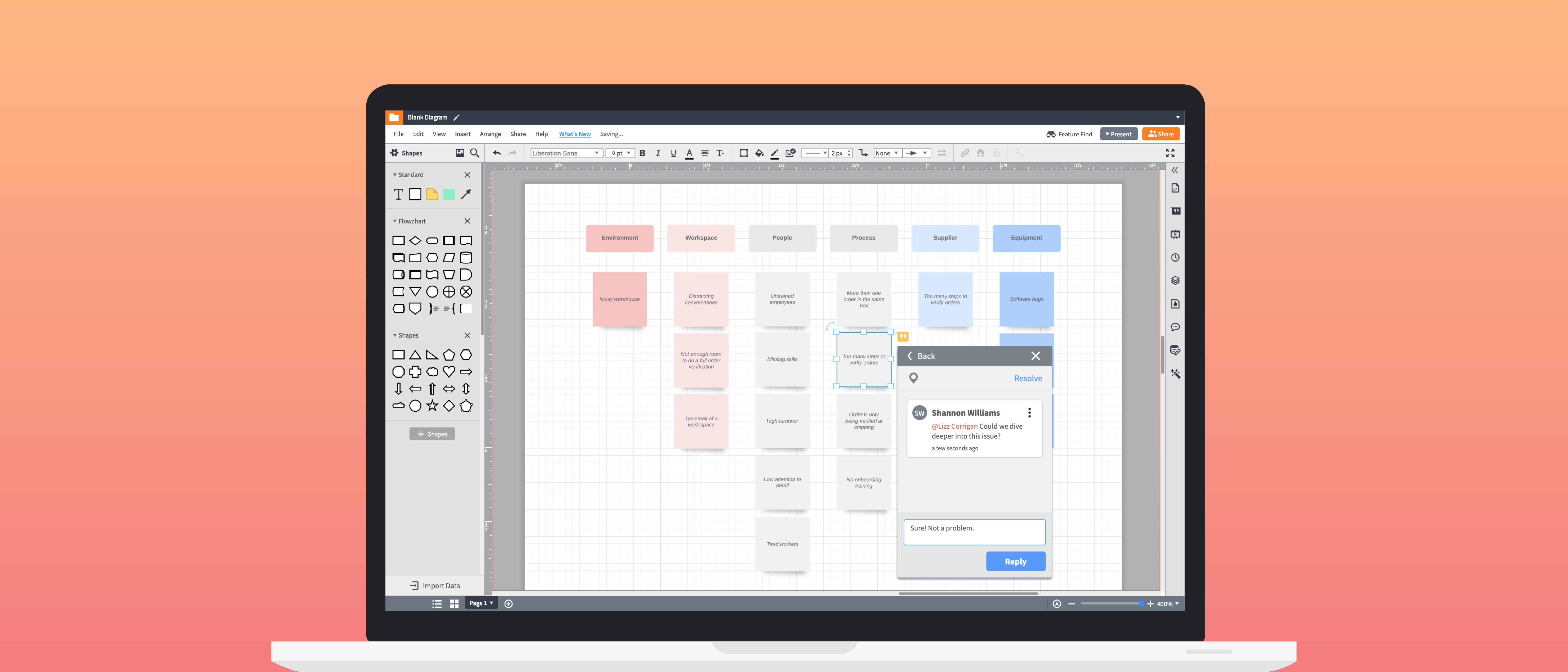 best practices for collaboration in Lucidchart