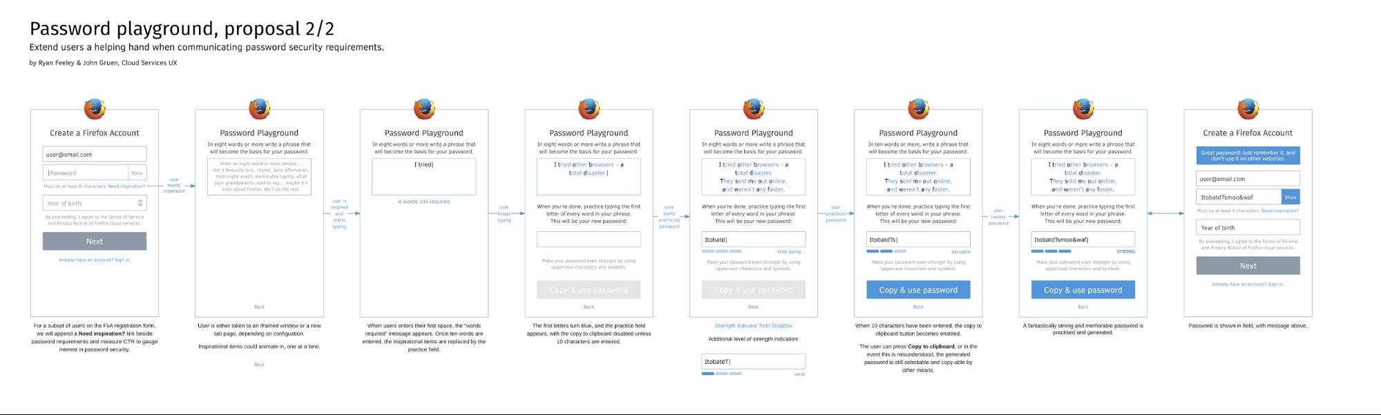 Mozilla Firefox mockup design example