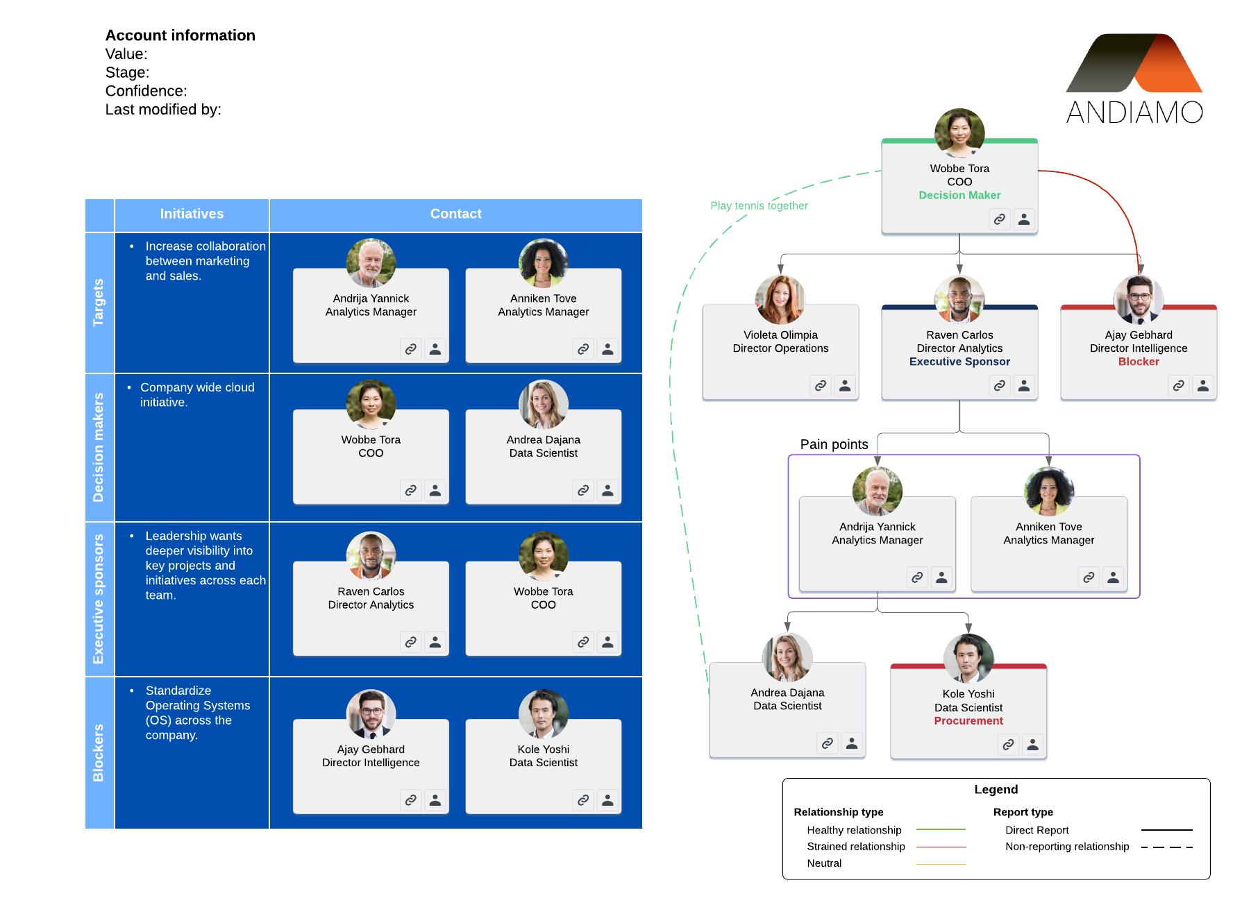 Salesforce account map