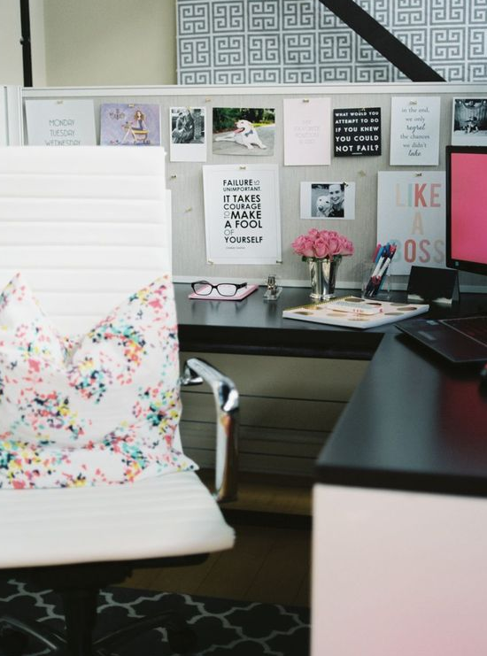 Decorated Office Space