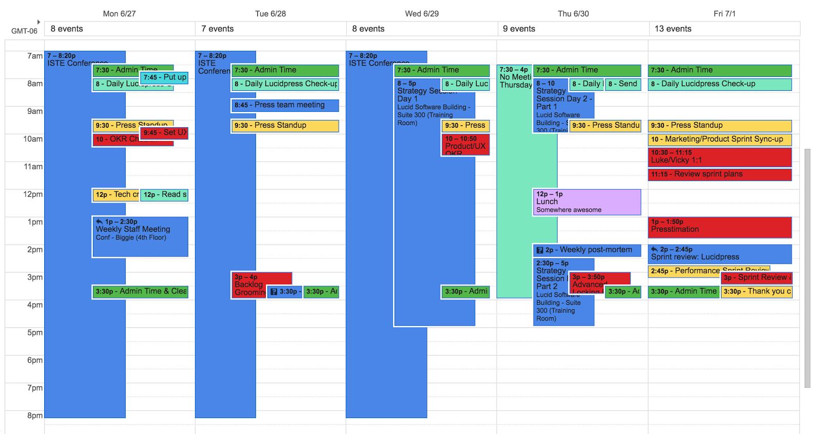 Inside a successful product managers toolbox lucidchart blog calendar alramifo Gallery