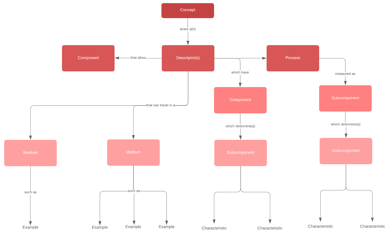 concept map example template
