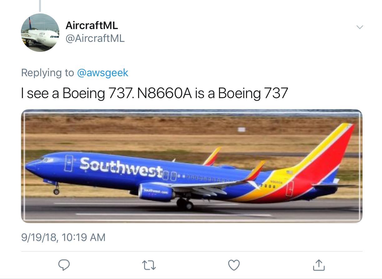 response from AircraftML