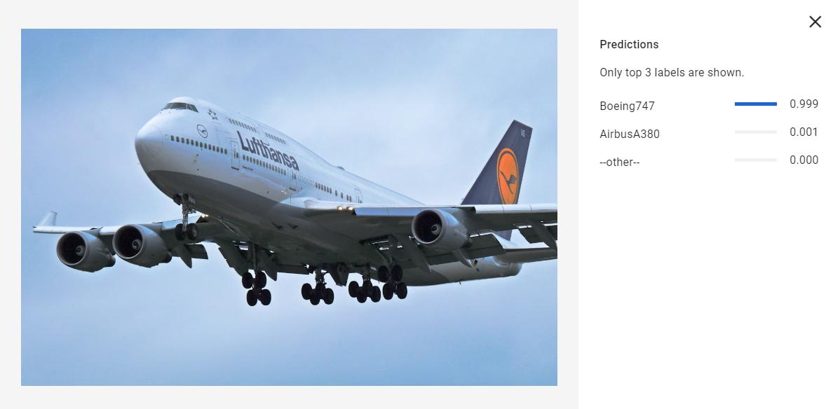 AircraftML example