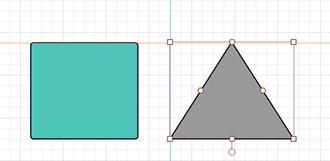 lucidchart shape alignment feature