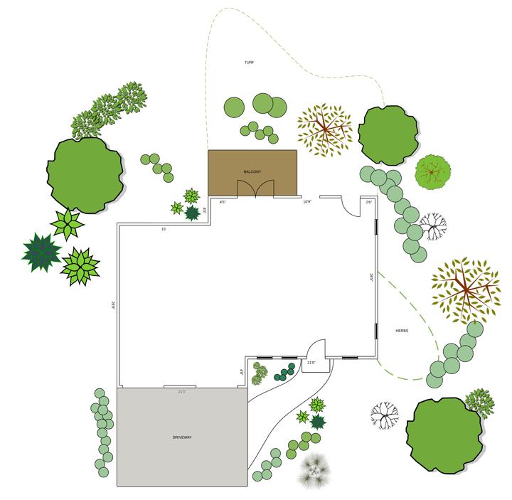 Visio Garden Design Templates
