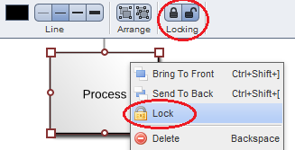 lock objects feature