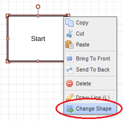 lucidchart quick shape replacement feature