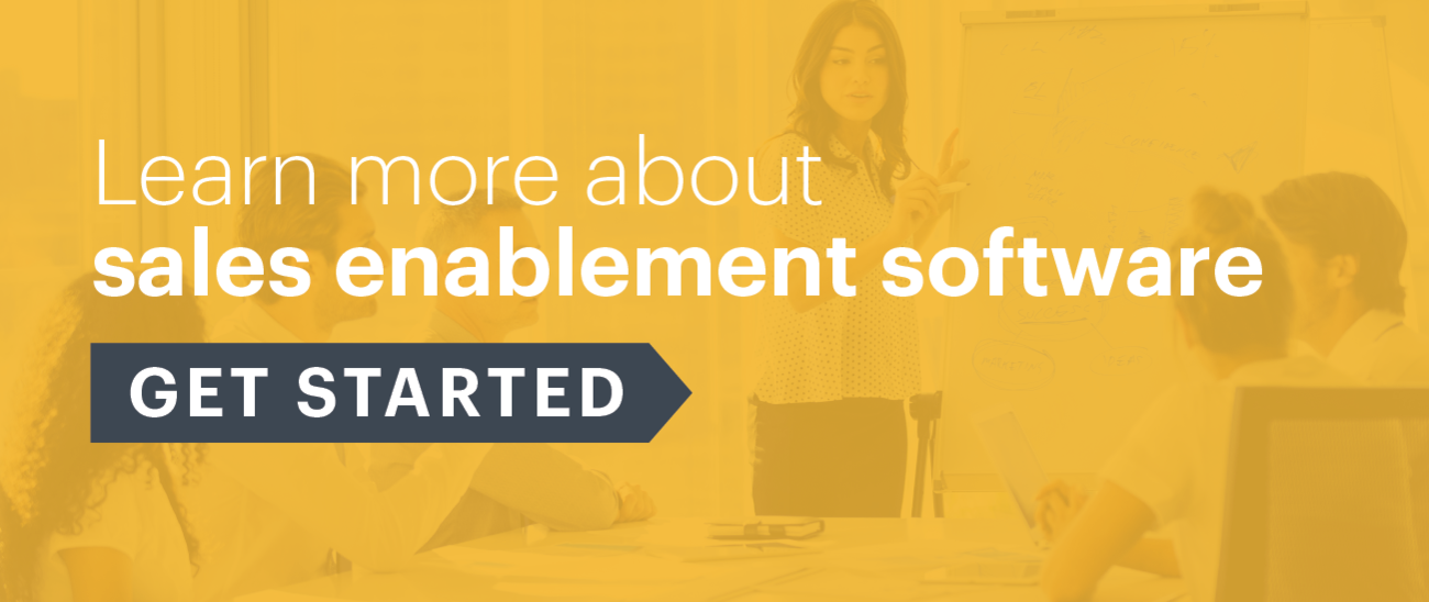 Sales enablement & template management software