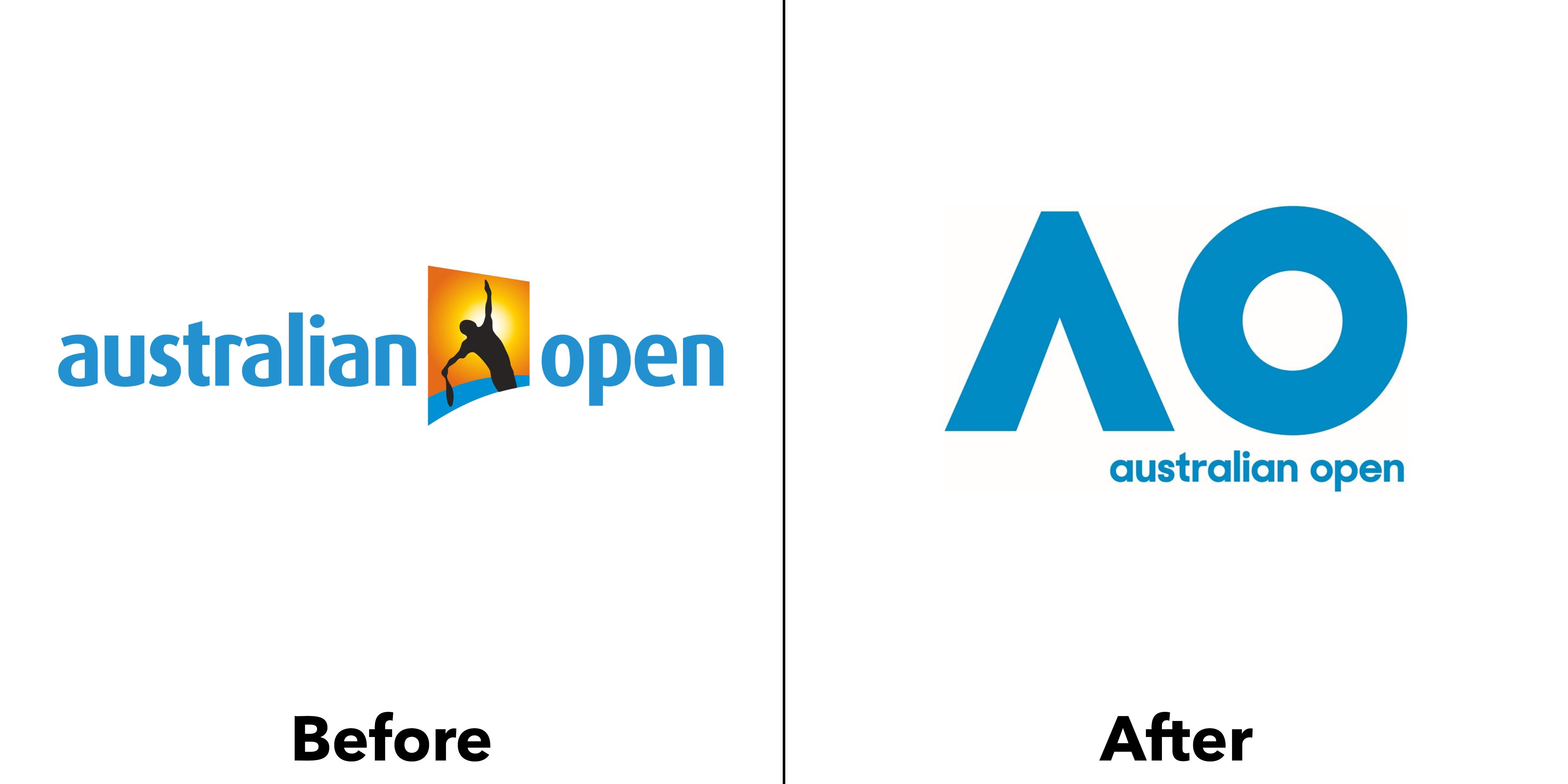 identité visuelle australian open