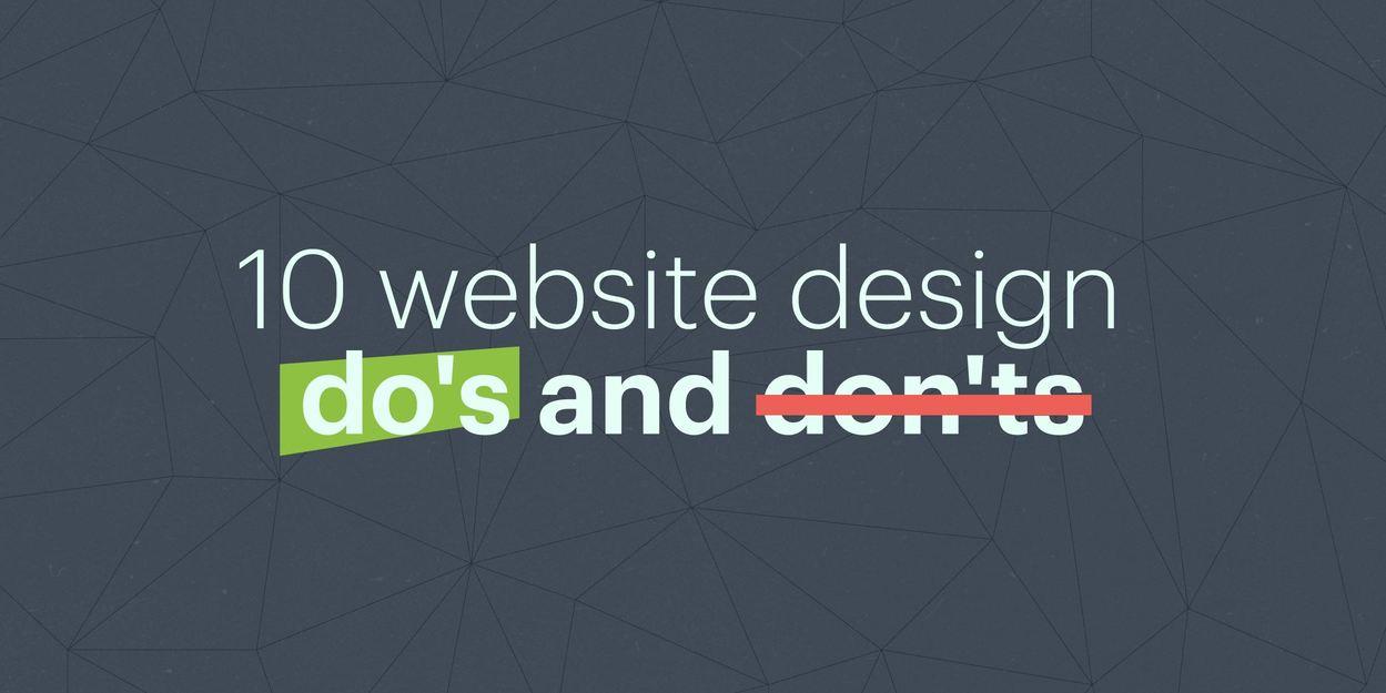 10 Website Design Do S Don Ts Lucidpress On Branding Design