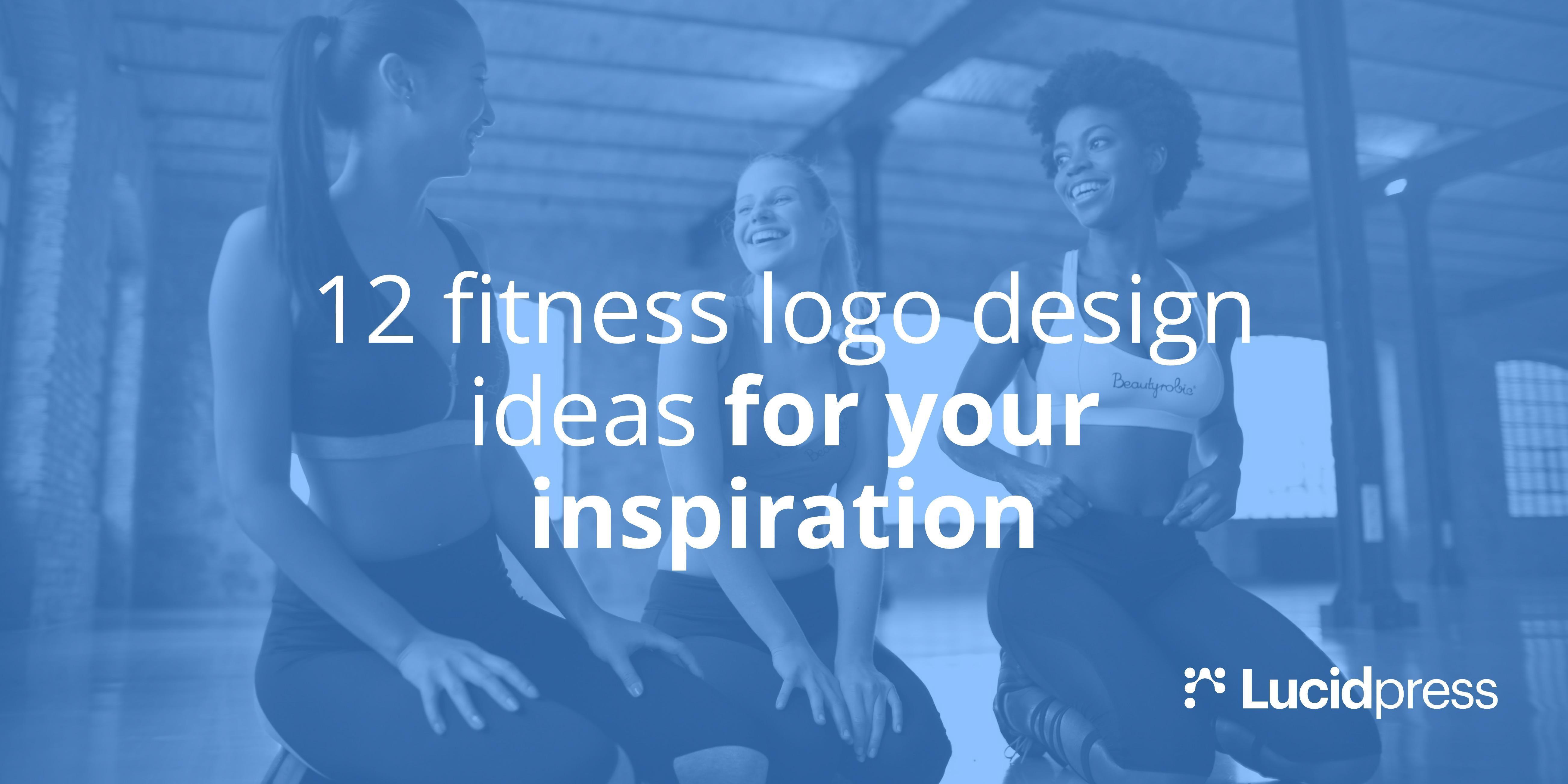 12 Fitness Logo Design Ideas for Your Inspiration   Lucidpress