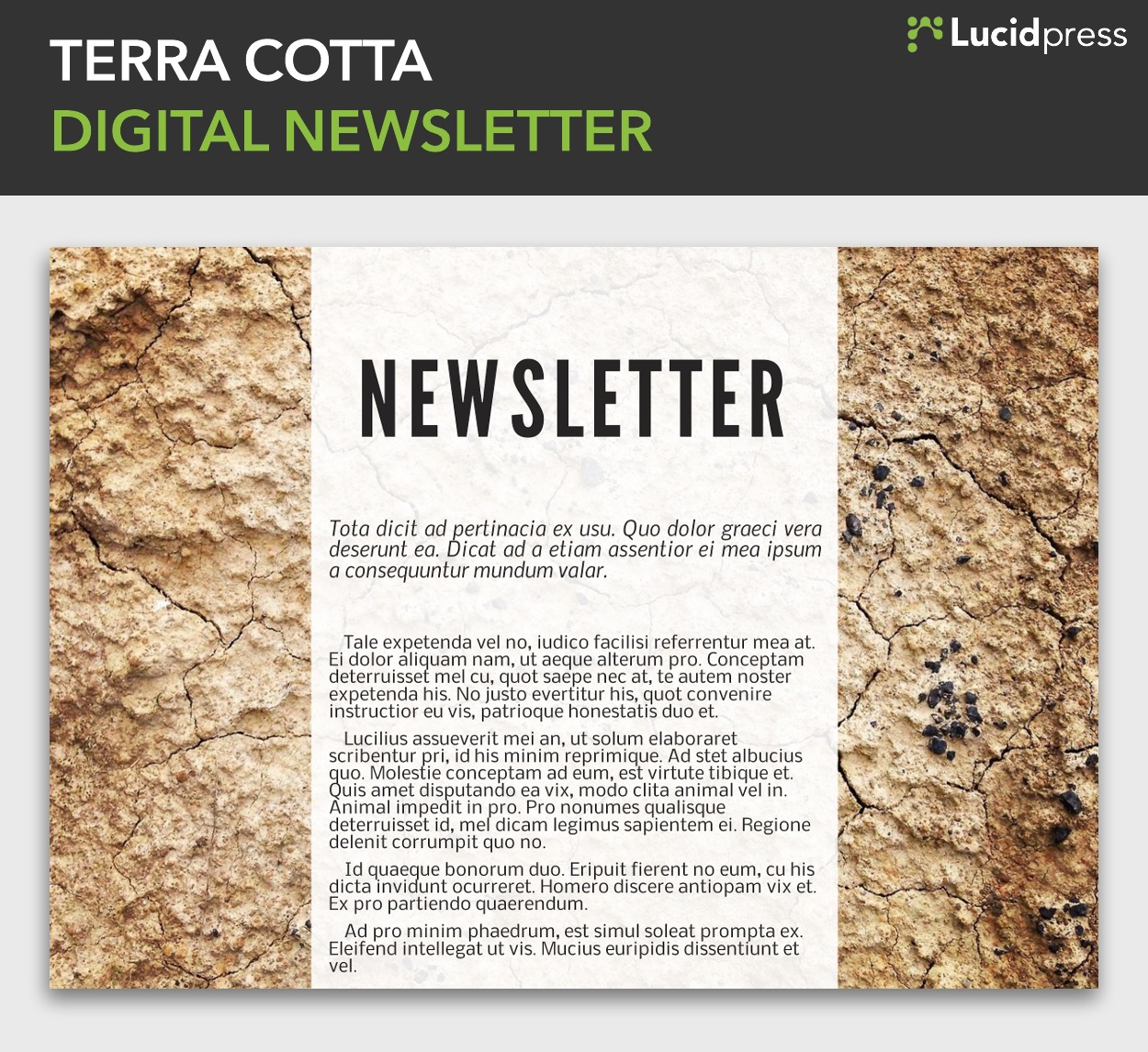 Best Newsletter Design Ideas To Inspire You Lucidpress - Free digital newsletter templates