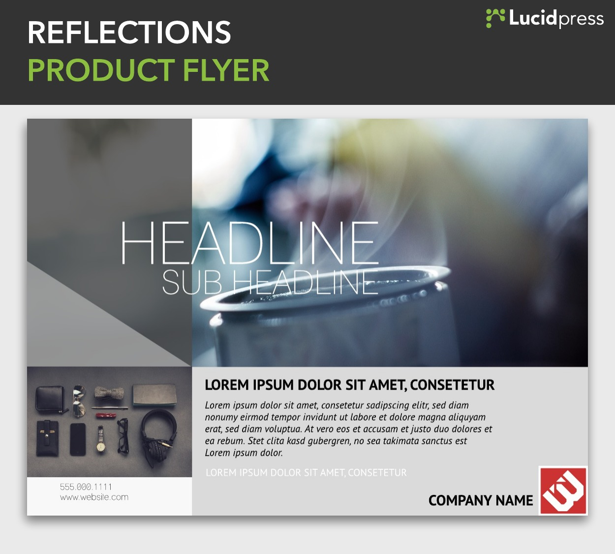 Reflections Product Flyer
