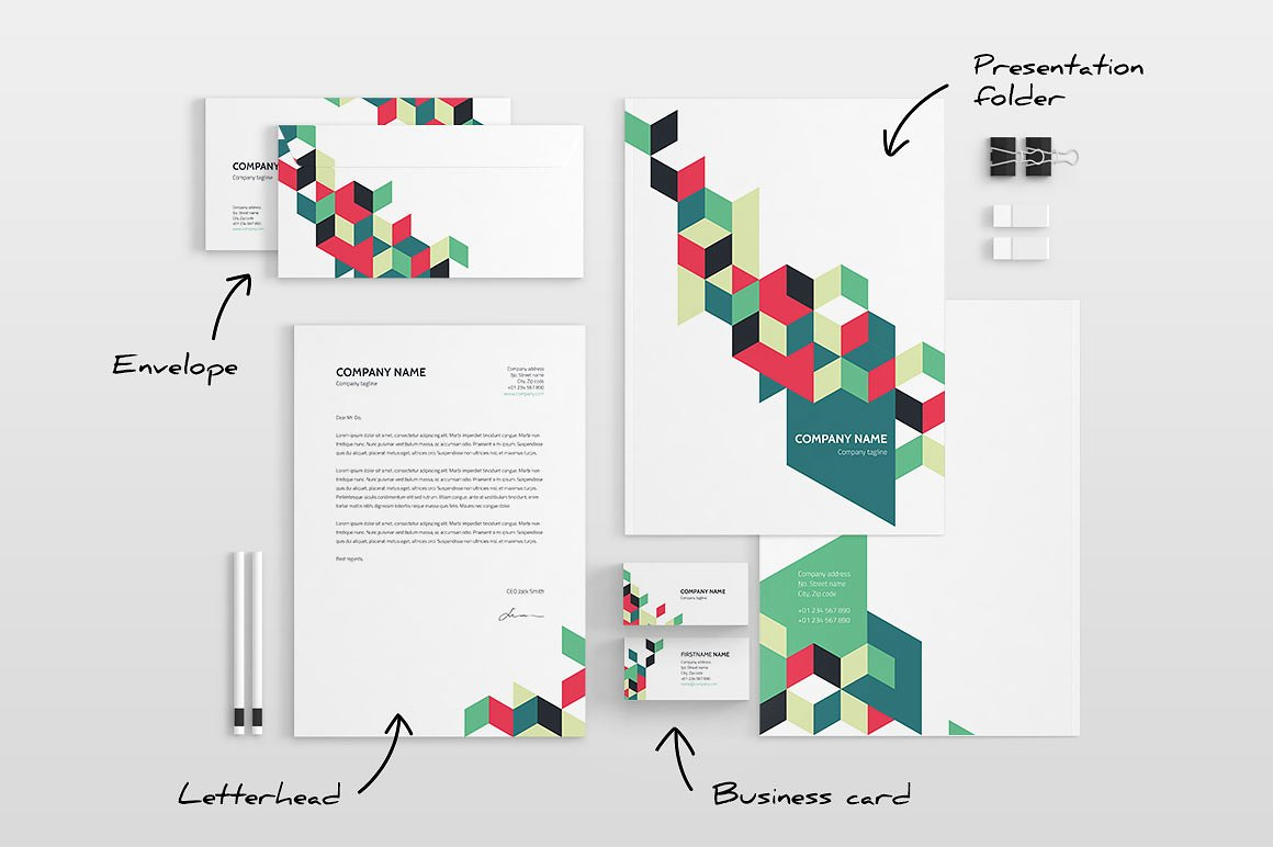 Examples Of Creative Letterhead Designs  Lucidpress
