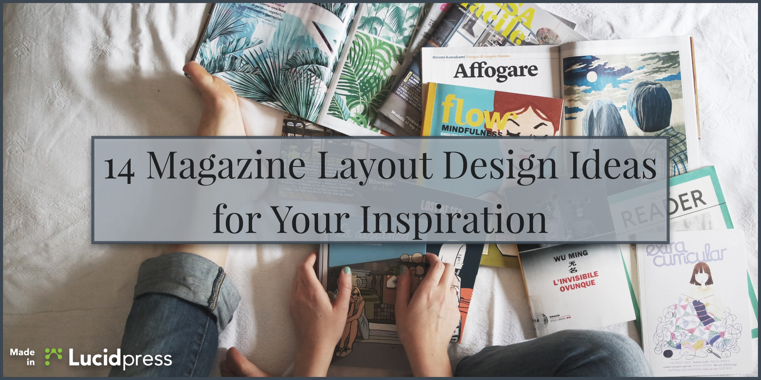 14 Magazine Layout Design Ideas for Your Inspiration