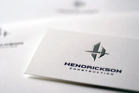 dk design studio simple business card