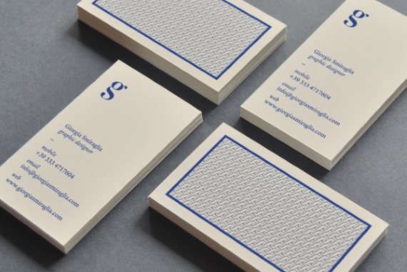 giorgia smiraglia vertical business card