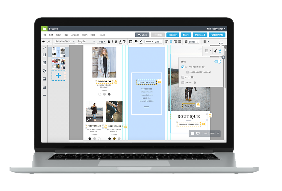 Lucidpress - franchise management software