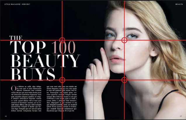 How to design a magazine ad