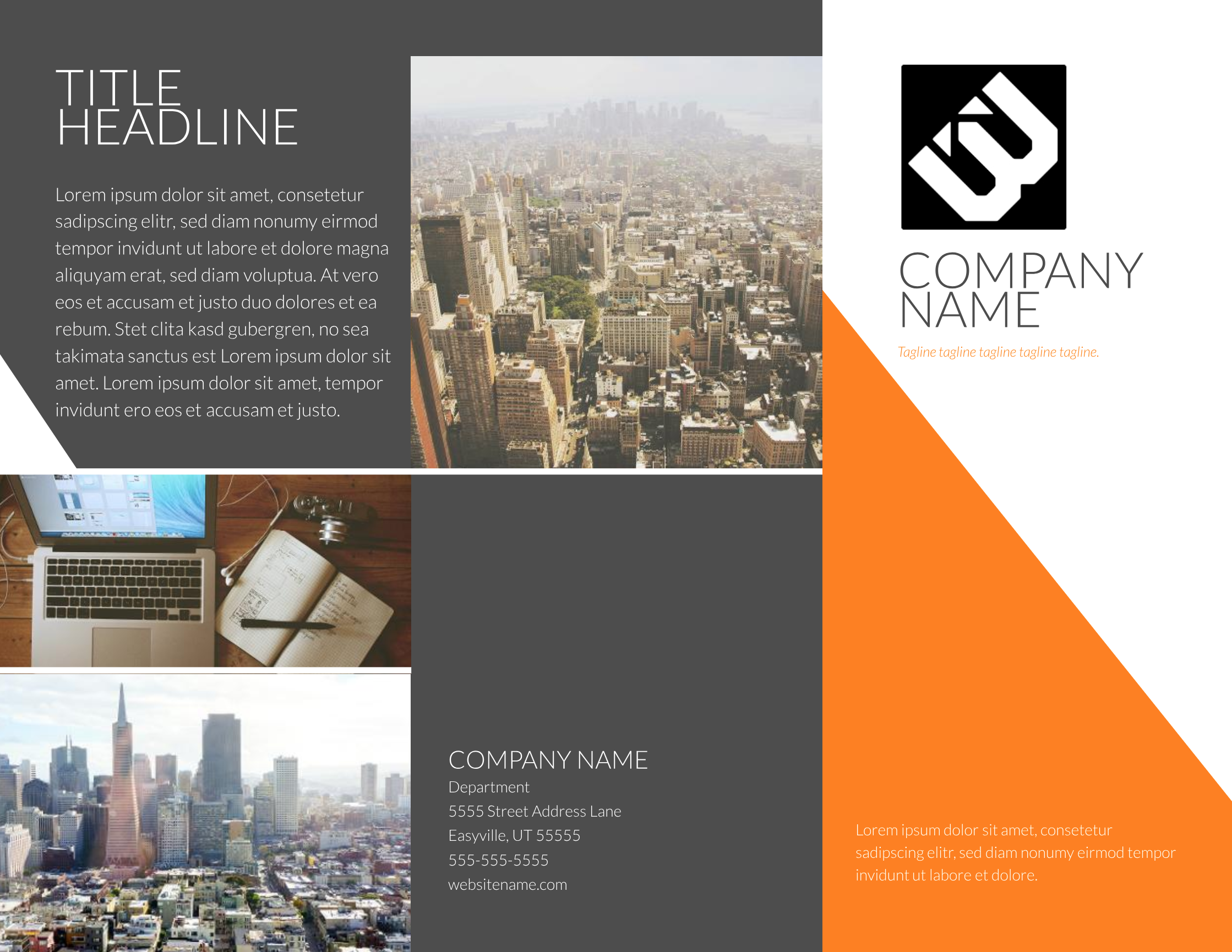 Contempo modern brochure template