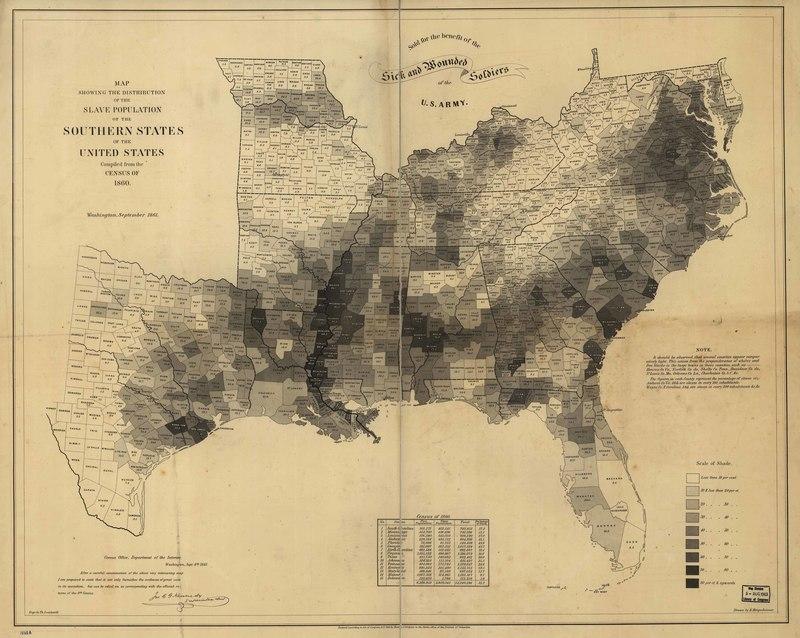 Coast Survey Slave Map