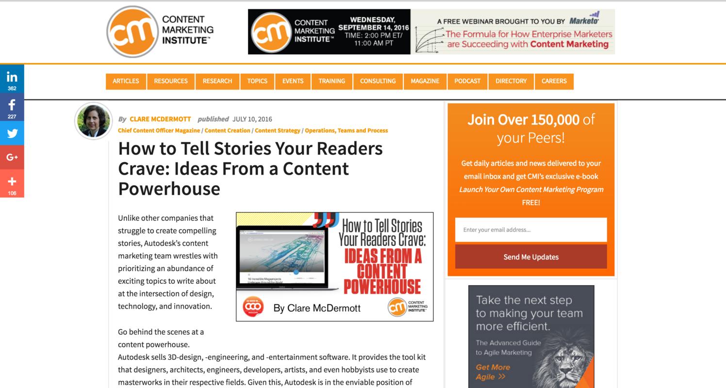 Best Content Marketing Magazines Online