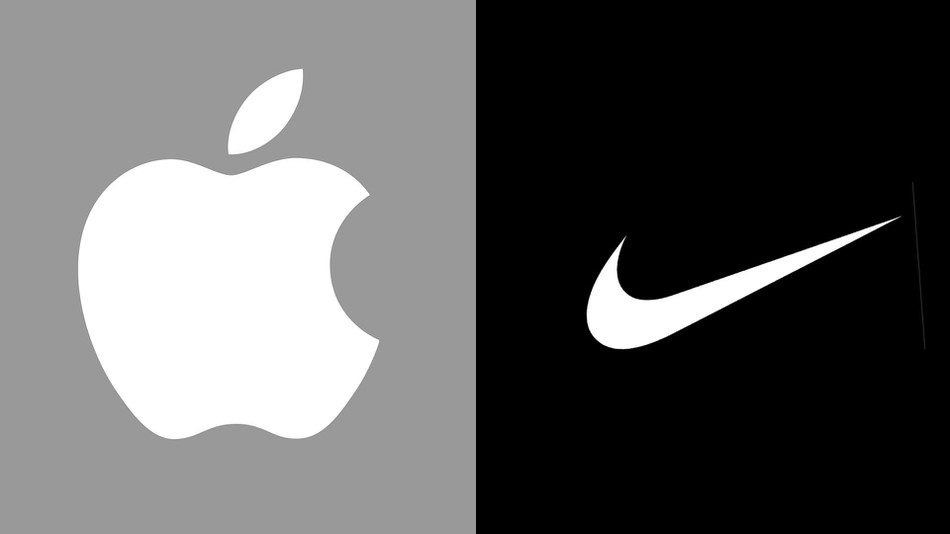 Apple and Nike logos