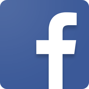 Facebook logo blue color