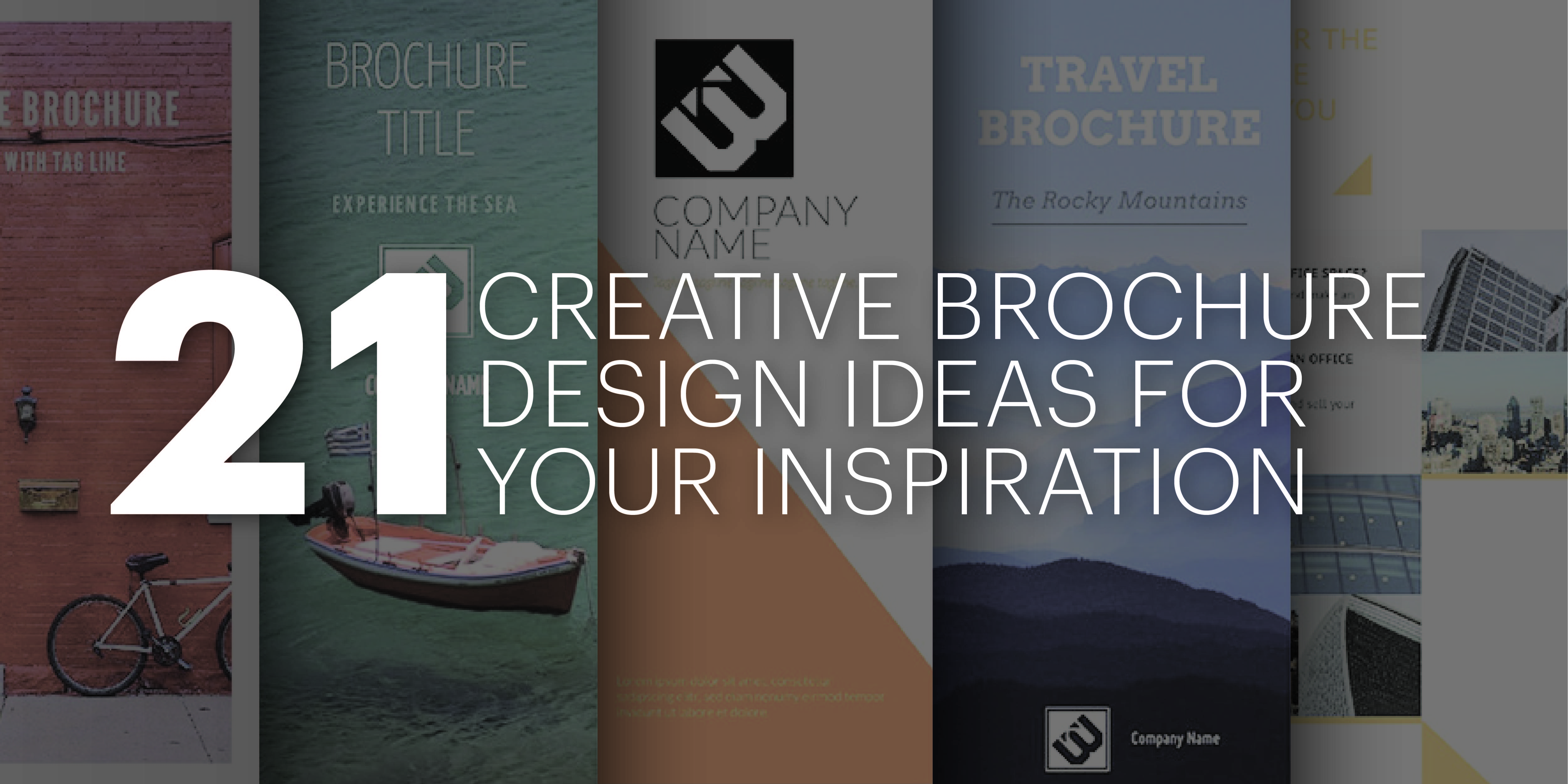 21 creative brochure design ideas for your inspiration - Brochure Design Ideas