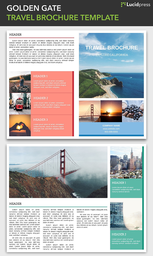 Creative Brochure Design Ideas For Your Inspiration - Commercial real estate brochure template