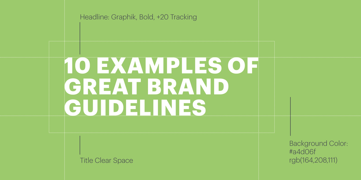 10 Examples of Great Brand Guidelines | Lucidpress