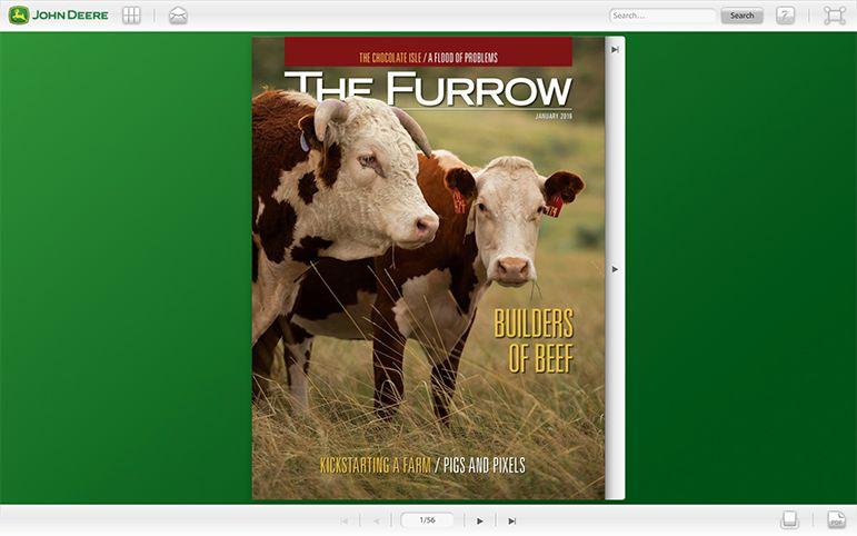 John Deere magazine telling their story