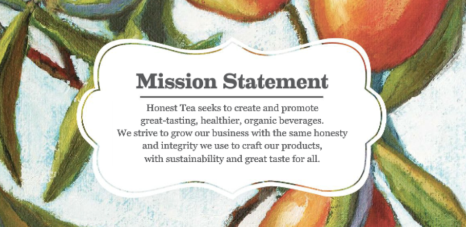 Honest Tea mission statement