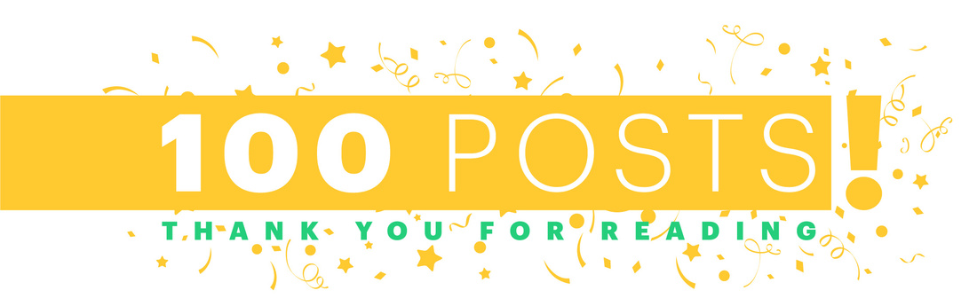 Lucidpress 100 blog posts celebration!
