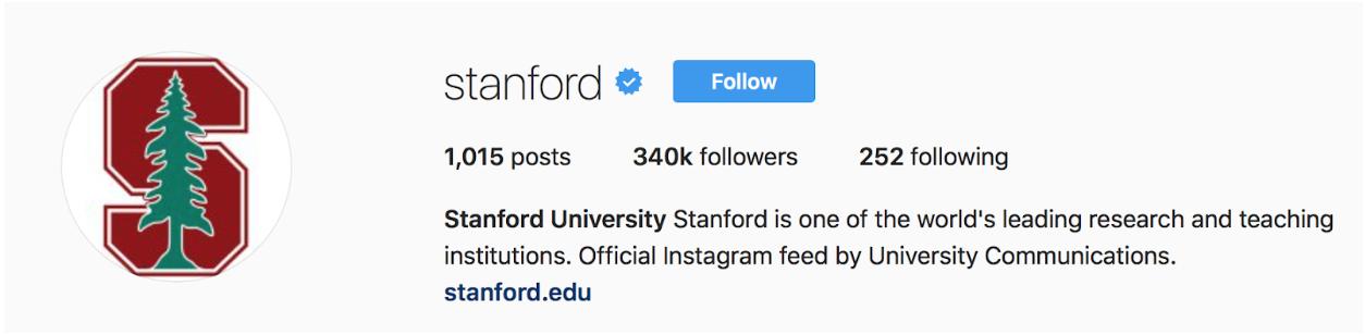 Stanford bio