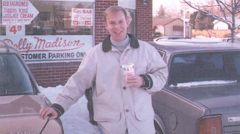 Steve Ells at his first store