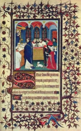 Design of illuminated manuscripts
